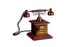 Gammal telefon vektor illustrationer