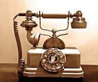 gammal telefon Royaltyfria Foton