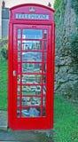 gammal telefon för askarkiv Royaltyfria Bilder