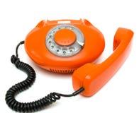 gammal telefonred Royaltyfria Foton