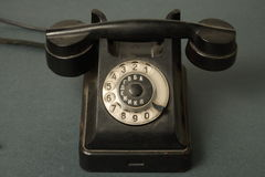 gammal telefonryss royaltyfri foto