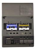 Gammal telefonsvarare Arkivfoto