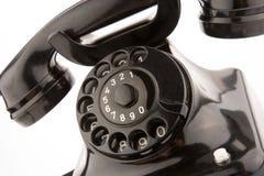 gammal telephon Royaltyfri Foto