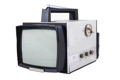 gammal television Arkivbild