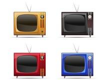 Gammal television vektor illustrationer