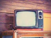 gammal televisiontappning Arkivfoto