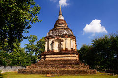Gammal tempel 2 Arkivbilder
