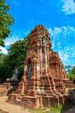 Gammal tempel Chaiwatthanaram Royaltyfri Foto