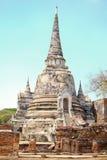 Gammal tempel för forntida arkitektur Royaltyfria Foton
