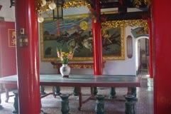 Gammal tempel i Hoi An arkivfoton