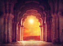 Gammal tempel i Indien Royaltyfri Fotografi