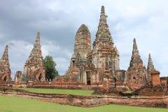Gammal tempel Thailand Royaltyfri Foto