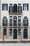 gammal tenement för hus Arkivbild