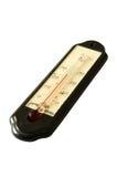gammal termometer för alkohol Arkivbilder