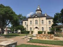 Gammal Texas domstolsbyggnad Arkivfoto