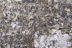 Gammal textur av en forntida stenvägg Royaltyfria Foton