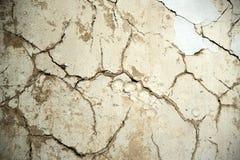 Gammal textur av murbruk fotografering för bildbyråer