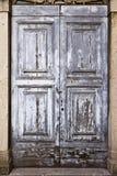 gammal textur för dörr Fotografering för Bildbyråer