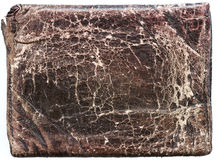 gammal textur för läder arkivbild
