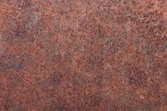 Gammal textur för metalljärnrost arkivbild