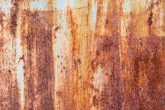 Gammal textur för metalljärnrost Arkivbilder