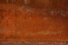 Gammal textur för metalljärnrost, bakgrundstextur av Rusted stål Arkivbilder