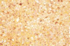 Gammal textur för orange terrazzogolv eller polerad sten för bakgrund royaltyfria bilder