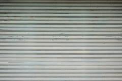 Gammal textur för tak för metallark Royaltyfria Bilder