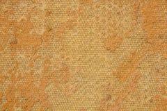 Gammal textur- och apelsinbakgrund Royaltyfri Fotografi