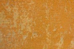 Gammal textur- och apelsinbakgrund Arkivbild