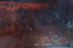 Gammal texturerad bakgrund för metall rost Bakgrund för förfallstålmetall Royaltyfri Foto