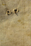 Gammal texturerad kanfasbakgrund Arkivfoto