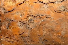 gammal texturerad vägg för bakgrund Royaltyfri Bild