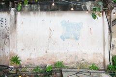 Gammal texturtegelstenvägg Royaltyfri Bild
