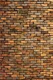 gammal texturvägg för tegelsten Royaltyfri Fotografi