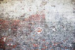 gammal texturvägg för tegelsten Fotografering för Bildbyråer