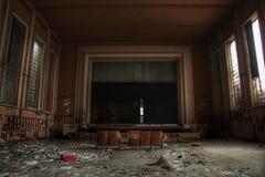 Gammal Theatre Royaltyfri Fotografi
