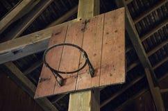 Gammal Tid basket Arkivbild