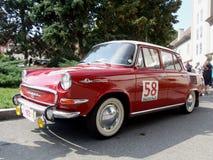 Gammal tjeckisk bil från 60-tal Arkivbild
