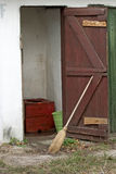gammal toalett Royaltyfria Bilder