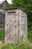gammal toalett Arkivfoton