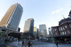Gammal Tokyo järnvägsstation Arkivbild