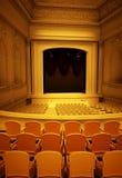 Gammal tom teater Arkivbild