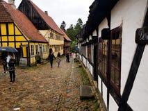 gammal town Arkivbilder