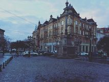 gammal town Arkivfoton