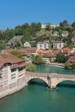 Gammal Town av Bern Arkivbild