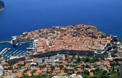 Gammal town av Dubrovnik Arkivfoto