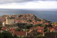Gammal town av Dubrovnik, Kroatien Arkivfoto