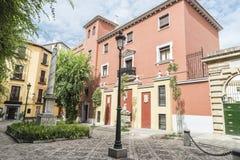 Gammal town av Granada, Spanien Arkivfoton