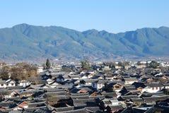 Gammal Town av Lijiang Royaltyfri Fotografi